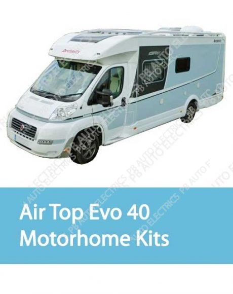 Motorhome Air Top Evo 40 Heater Kits