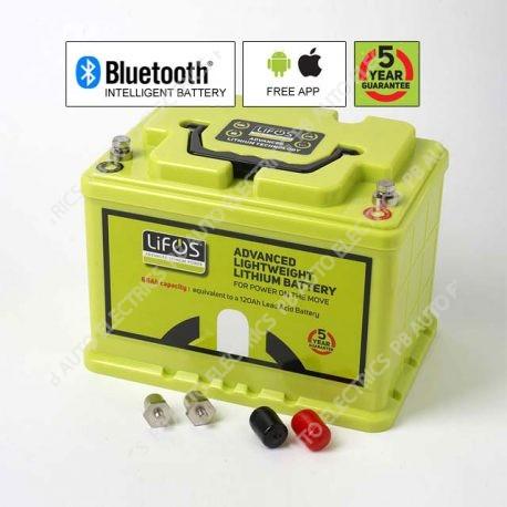 LIFOS Advanced Premium Lightweight Lithium Intelligent Battery