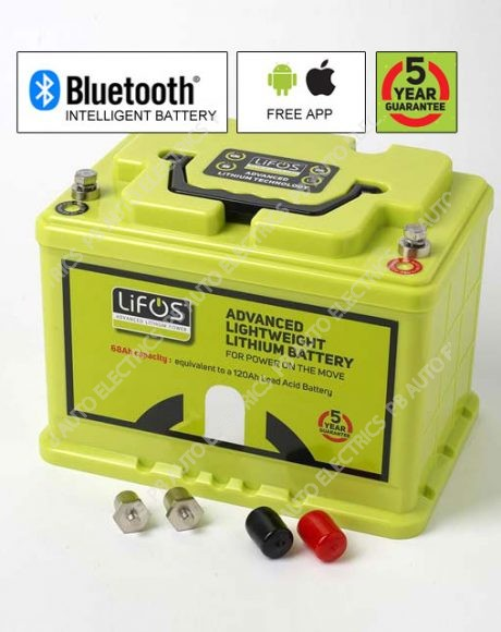 LIFOS Advanced Premium Lightweight Lithium Intelligent Battery