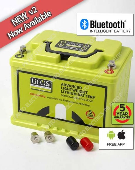 LIFOS Advanced Premium Lightweight Lithium Intelligent Battery V2