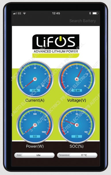 LIFOS Advanced Premium Lightweight Lithium Battery