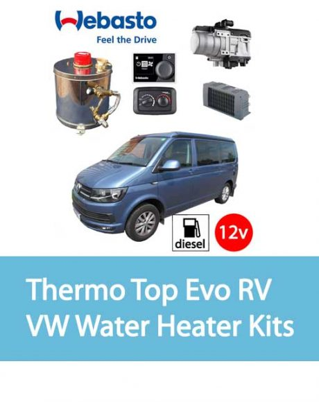 Webasto Thermo Top Evo RV VW Water Heater Kits