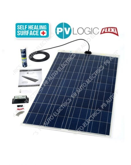 150 Watt PV Logic Flexi Roof Top Kit with 10Amp Charge Controller - STPVFRT150