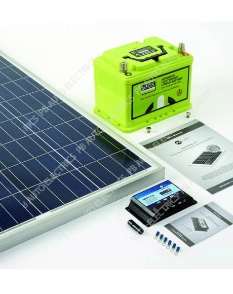 Solar Technology 60 Watt Power Bundle Kit Includes LiFOS 68 Battery - STP060OGPB