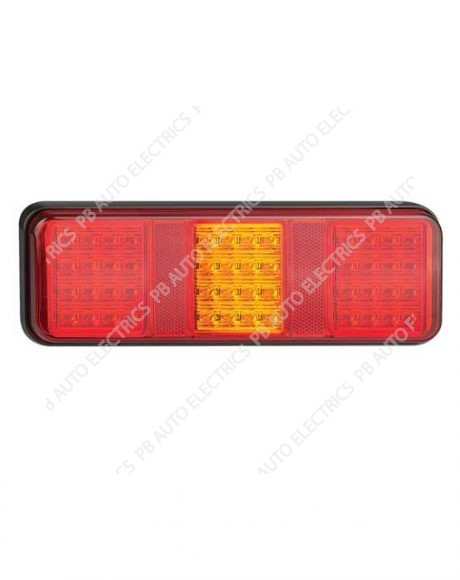 LED Autolamps 283 Series Triple Combination Lamp (with Fog) - 283FARM