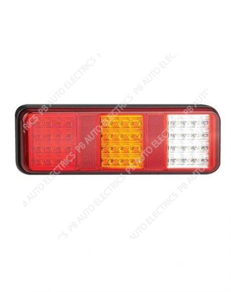 LED Autolamps 283 Series Triple Combination Lamp (w/ Reverse) - 283WARM