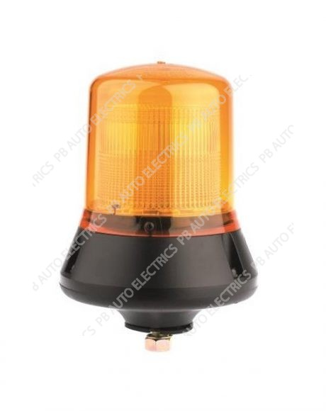 Britax 12v Single Bolt CAP168 Airport Static Flashing Amber Beacon - B331.00.12v