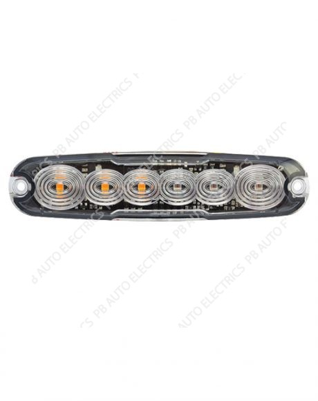 LED Autolamps Low-Profile LED Compact Combination Lamp Stop / Tail / Indicator 12-24v - 12ARM