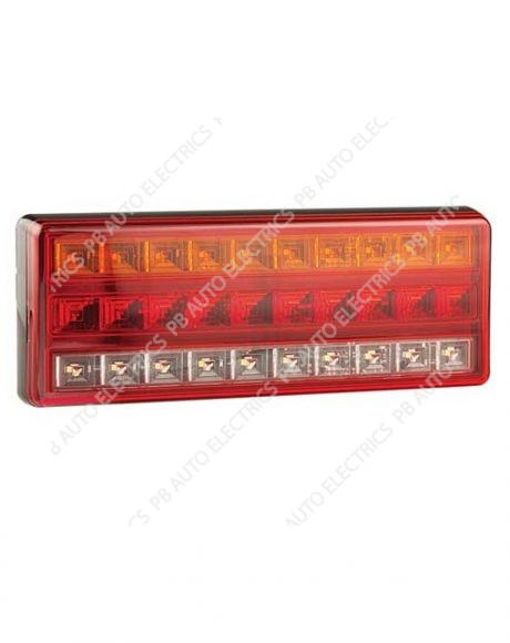 LED Autolamps Rear Stop Tail Indicator Reverse Lamp 12/24v - 275ARWM