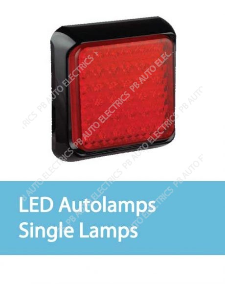 LED Autolamps Single Lamps