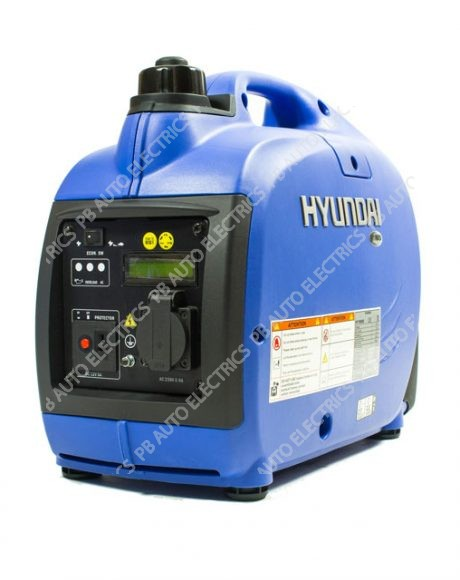 Hyundai 1000W Portable Petrol Inverter Generator - HY1000Si