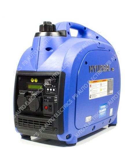 Hyundai 2000W Portable Petrol Inverter Generator - HY2000Si