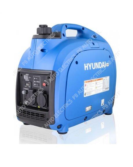 Hyundai 2000W Portable Petrol Leisure Inverter Generator – HY2000Si