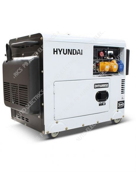 Hyundai DHY6000SE 5.2kW 'Silent' Standby Diesel Generator - DHY6000SE