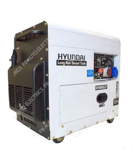 Hyundai DHY8000SELR-T 6kW 3-phase Silenced Long Run Diesel Generator – DHY8000SELR-T