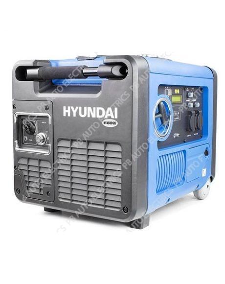 Hyundai HY4500SEI 230V Petrol Driven 4000W 4.0kW 5kVA Portable 'Silenced' Generator