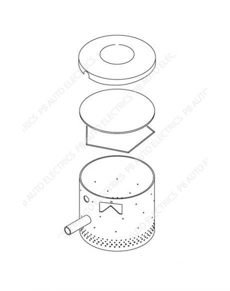 Webasto Diesel Cooker X100 Burner Cylinder – WA602216
