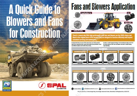 SPAL - Blowers & Fans For Construction