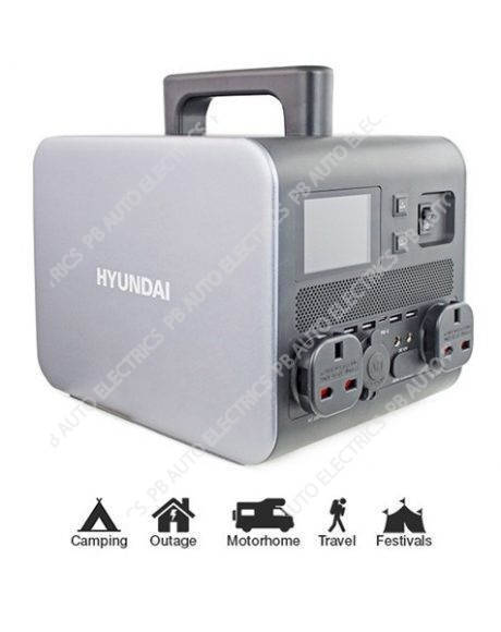 Hyundai HPS-300 Portable Power Station 300W (Continuous Power) 600W (Peak Power) - HPS-300