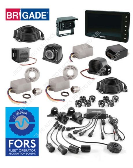 Brigade FORS SILVER Compliant Camera And Side Detection System For Rigid Vehicles - FORS-SS-01 (6077)