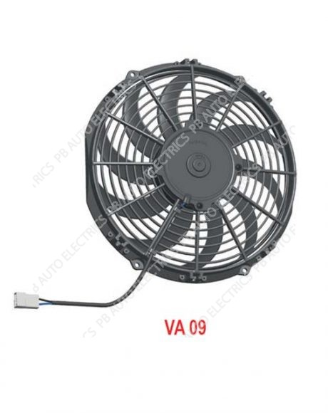 "SPAL High Performance 11"" (280mm) 24v Cooling Fan (Blowing) - VA09-BP50/C-27S (30101801A)"