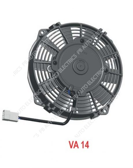 "SPAL High Performance 7.5"" (190mm) 12v Cooling Fan (Blowing) - VA14-AP7/C-34S (30100393A)"