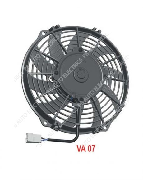 "SPAL High Performance 9"" (225mm) 12v Cooling Fan (Suction) - VA07-AP7/C-31A (30100338A)"