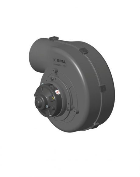 SPAL Single Centrifugal Blower 254CFM 12v Single Speed 001-A46-03D – 30000343