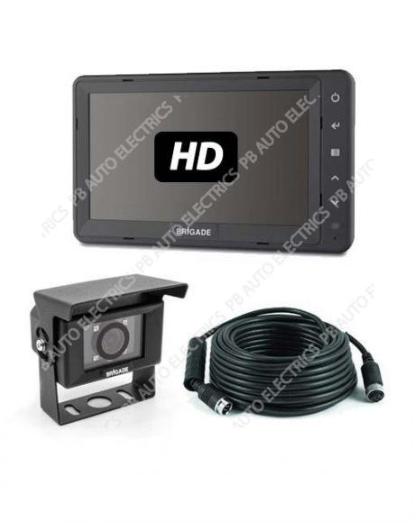 Brigade Single AHD Camera Monitor System For Rigid Vehicles - VBV-770H-7000 (6111)