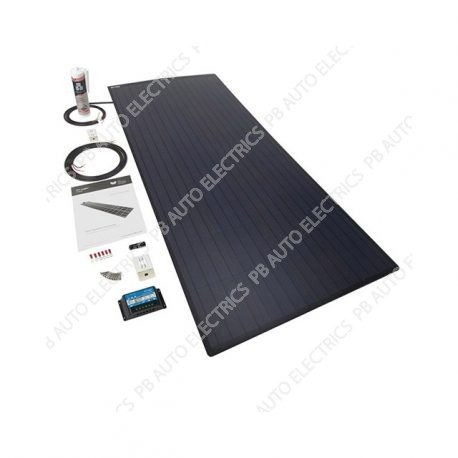 Solar Technology 120w Rigid Mono High Density Solar Panel Roof and Deck Top Kit - STPUMH120AE
