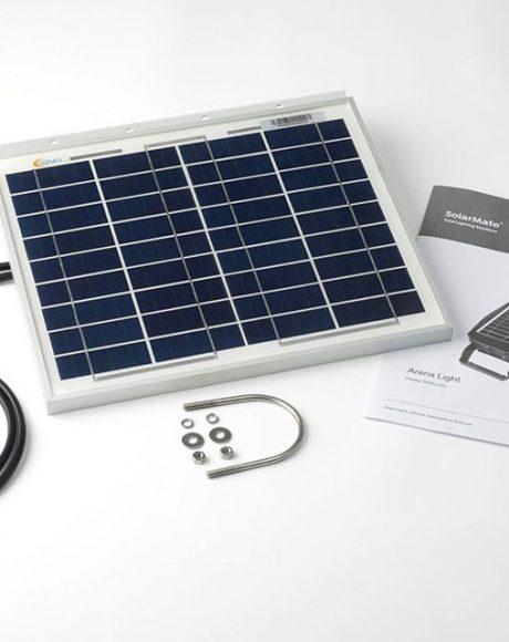 SolarMate Arena2 Flood Light Supercharger Solar Panel - SMAL002EX