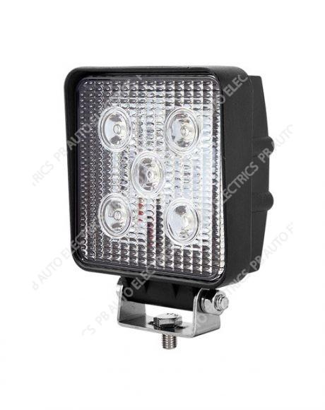 LED Autolamps 15W LED 12-24v Square Flood Lamp 1200 Lumens - 10915BM