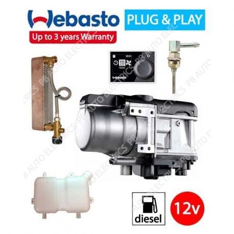 Webasto Thermo Top Evo 5 RV & Welfare Hot Running Water Kit – PBTTEVO/HOTWASH