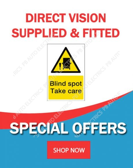 Direct Vision Standard Supplied And Fitted Special Offer