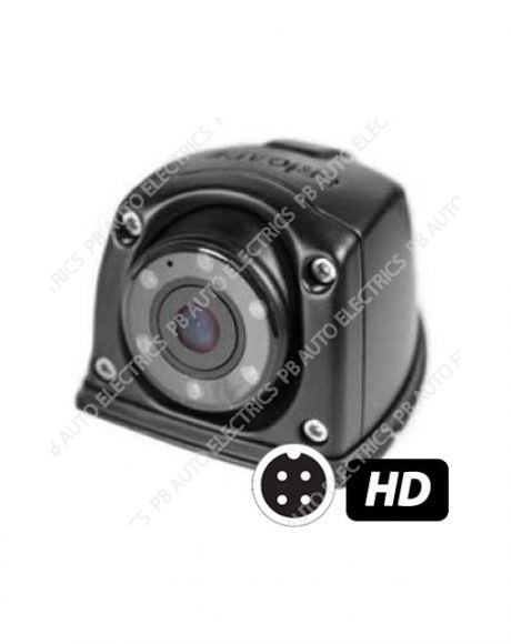 Brigade Select VBV-3000C Compact Flush Mount Eyeball HD 720p Camera (Suitable for reverse camera use) - Mirror View (5454)