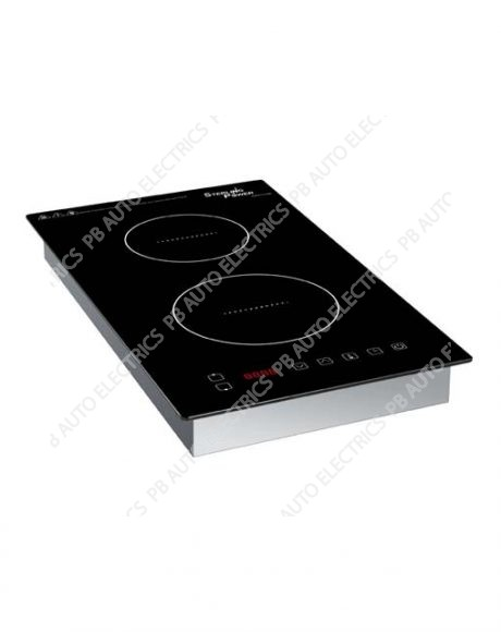 Sterling Fixed Mountable 2800W Twin Front Back 230v Induction Hob - IHFB