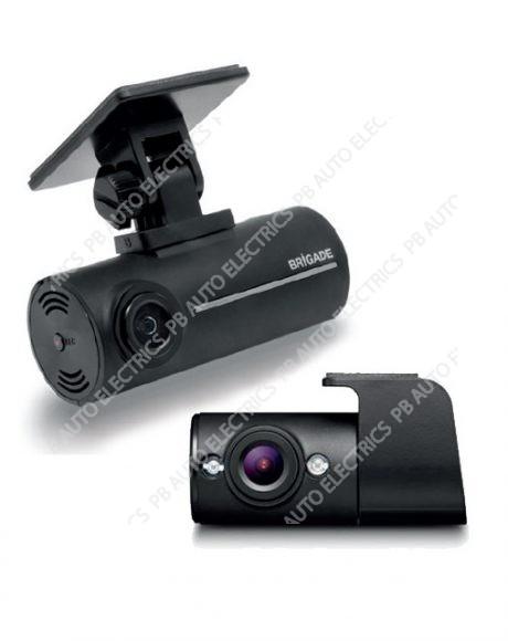 Brigade DC-102-RVC HD Dash Cam Recorder & Internal Infrared LED Camera - 6396