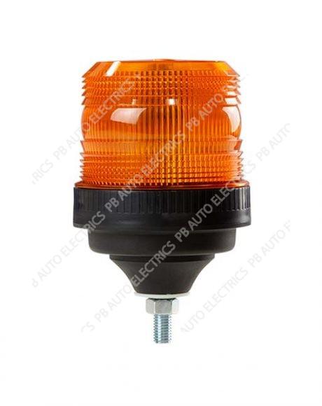 ECCO LED Series Bronze R10 1 Bolt Flexi 12-24v AMBER LED Beacon - EB5011A