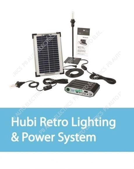 Hubi Retro Lighting & Power System