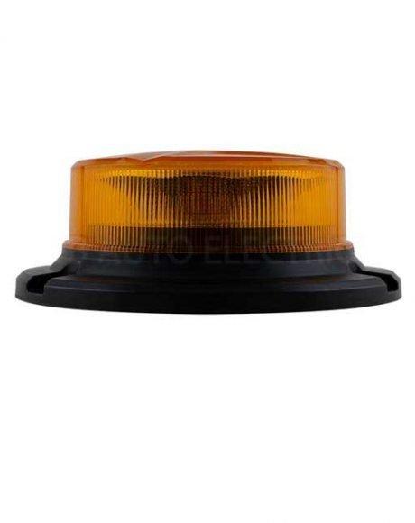 LED Autolamps R65 Low Profile LED Warning Beacon 3 Bolt (Amber Lens) 12/24v - LPBR65A