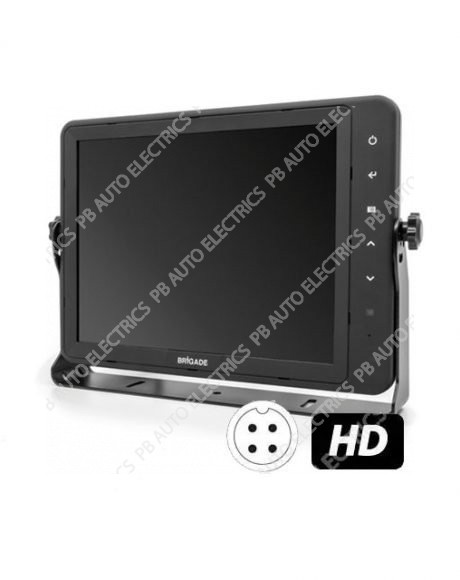 "Brigade VBV-7104HFM Select Range 10.4"" QUAD Multi-image HD LCD Monitor (6057)"